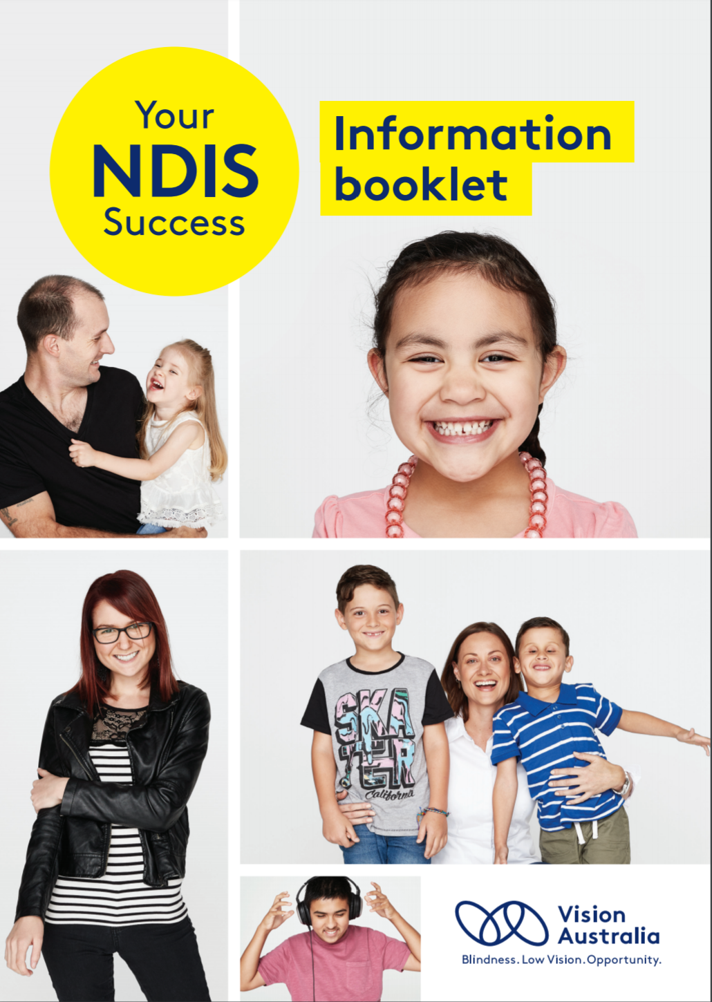 Front cover of the Your NDIS Success: Information booklet